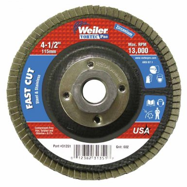 Coated Flap Disc Abrasives