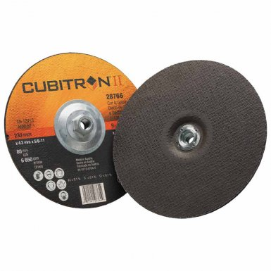 3M 051141-28766 Abrasive Cubitron II Cut & Grind Wheels