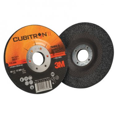 3M 051115-78466 Abrasive Cubitron II Depressed Center Grinding Wheel