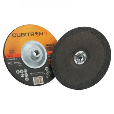 3M 076308-64319 Abrasive Cubitron II Depressed Center Grinding Wheel