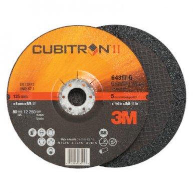 3M 076308-64317 Abrasive Cubitron II Depressed Center Grinding Wheel