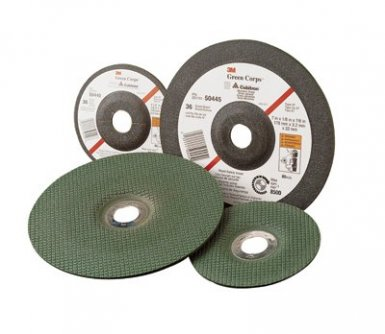 3M 51111504437 Abrasive Green Corps Flexible Grinding Wheels