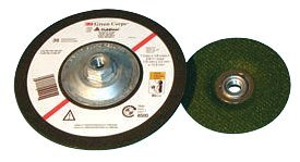 3M Abrasive Green Corps Flexible Grinding Wheels (Quick Change) 405-051111-51163