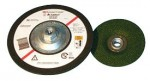 Abrasive Green Corps Flexible Grinding Wheels (Quick Change)