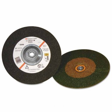 3M 051111-55956 Abrasive Green Corps Depressed Center Wheels