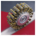 3M 048011-17870 Abrasive Heavy Duty Roto Peen Flap Assembly