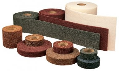 Abrasive Scotch-Brite Clean and Finish Roll Pads - 3M 405-048011-00260 - 3M Non Woven Roll Abrasives
