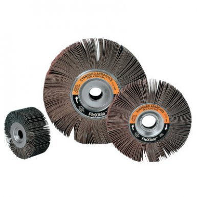 3M 051115-42785 Abrasive Standard Abrasives Aluminum Oxide Flexible Flap Wheel