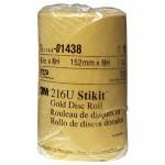 3M 51144014385 Abrasive Stikit Gold Disc Rolls 216U