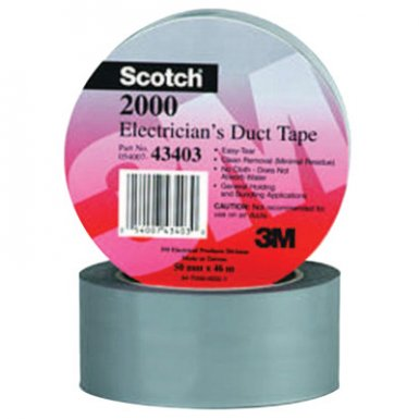 3M Electrical Scotch Electricians Duct Tapes 2000