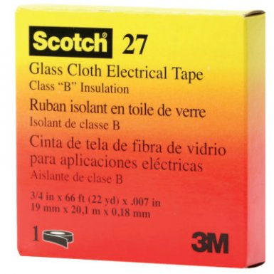 3M Electrical Scotch Glass Cloth Electrical Tapes 27