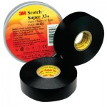 3M Electrical Scotch Super Vinyl Electrical Tapes 33+