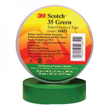 3M Electrical Scotch Vinyl Electrical Color Coding Tapes 35
