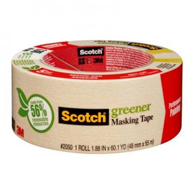 3M 7000047954 Industrial Scotch 2050 Greener Masking Tapes