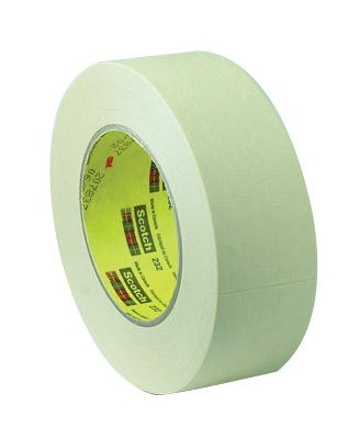 3M 21200028526 Industrial Scotch High Performance Masking Tapes 232