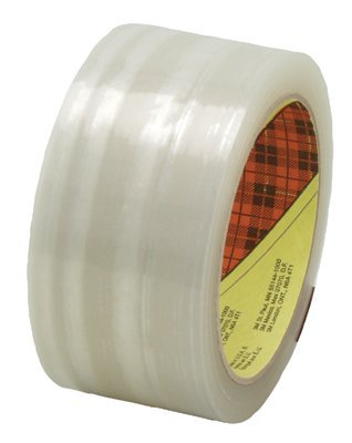 3M 21200723612 Industrial Scotch High Performance Box Sealing Tapes 373
