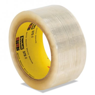 3M 21200724060 Industrial Scotch High Performance Box Sealing Tapes 375