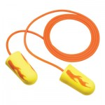 3M Personal Safety Division E-A-Rsoft Yellow Neon Blasts Foam Earplug