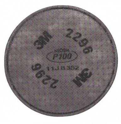 3M 2296 Personal Safety Division Advanced Particulate Filters