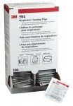 3M 50051100000000 Personal Safety Division Respirator Cleaning Wipes