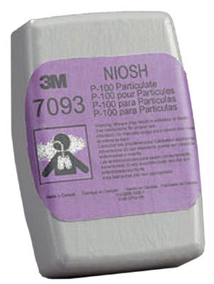 3M 50051100000000 Personal Safety Division Particulate Filters 7093, P100