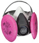 3M 50051100000000 Personal Safety Division 6000 Series Half Facepiece Respirator Assemblies