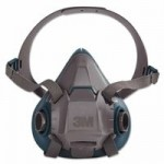 3M 70071621836 Personal Safety Division Rugged Comfort Half-Facepiece Reusable Respirators