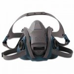 3M 70071621869 Personal Safety Division Rugged Comfort Quic-Latch Half-Facepiece Reusable Respirators