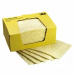 3M 50051100000000 Personal Safety Division High-Capacity Chemical Sorbent Pads