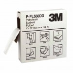 3M P-FL550DD Personal Safety Division High-Capacity Petroleum Folded Sorbents