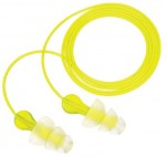 3M 70071647575 Personal Safety Division Tri-Flange Earplugs