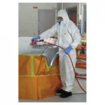 3M 4510-BLK-XXL Personal Safety Division Disposable Protective Coverall 4510 Series