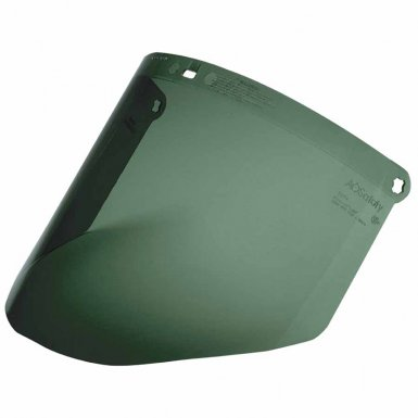 3M 82702-00000 Personal Safety Division Dark Green Polycarbonate Faceshield WP96C