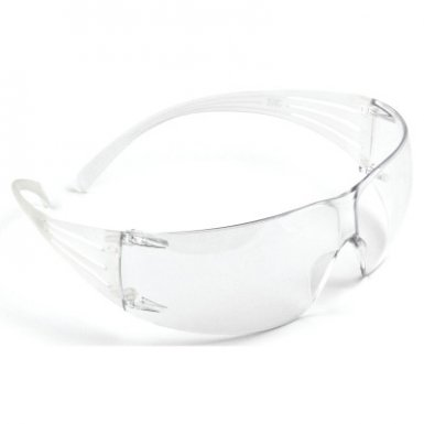 3M SF201AS Personal Safety Division SecureFit Protective Eyewear, 200 Series