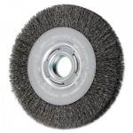 Advance Brush 81122 Medium Face Crimped Wire Wheel Brushes