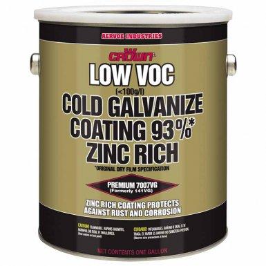 Aervoe 7007VG Crown Low VOC Cold Galvanize Coatings