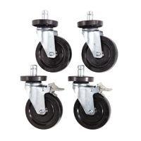 Alera SW590004 Wire Shelving Casters