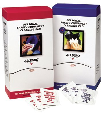 Allegro 1001 Respirator Cleaning Wipes