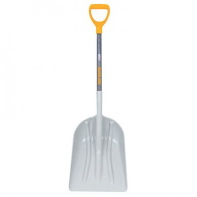 Ames True Temper 2604300 Poly Scoop with Hardwood Handle