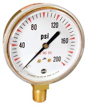 Ametek U.S. Gauge 166692A Welding & Compressed Gas Gauges
