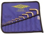 Ampco Safety Tools M-42 10 Piece Allen Key Sets