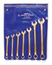 Ampco Safety Tools M-41 7 Piece Combination Wrench Sets