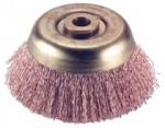 Ampco Safety Tools CB-44 Crimped Wire Cup Brushes