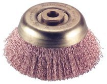 Ampco Safety Tools CB-44-CT Crimped Wire Cup Brushes