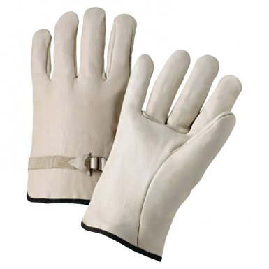 Anchor Brand 4100M 4000 Series Cowhide Leather Driver Gloves