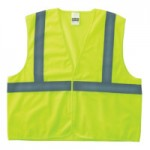 Anchor Brand 2PHLL-L/XL Class 2 Economy Safety Vests with Hook and Loop Closure