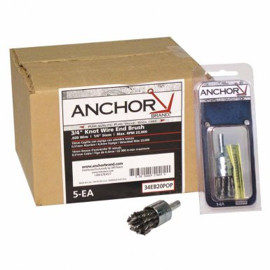 Anchor Brand 1EBA006S Crimped Wire End Brushes