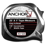 Anchor Brand 43-123 Easy to Read Tape Measures