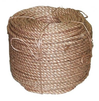 Anchor Brand 1-1/8X125-3S Manila Rope Ropes