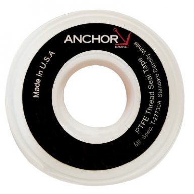 Anchor Brand TS50STD1200ST White Thread Sealant Tapes